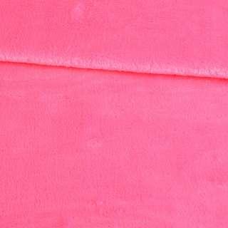 Велсофт двухсторонний розовый яркий, ш.180 оптом