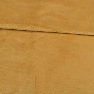 Велсофт двухсторонний бежево-желтый, ш.180 оптом