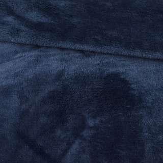 Велсофт двухсторонний синий темный, ш.195 оптом