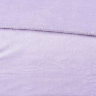 Велсофт двухсторонний сиреневый светлый, ш.180 оптом