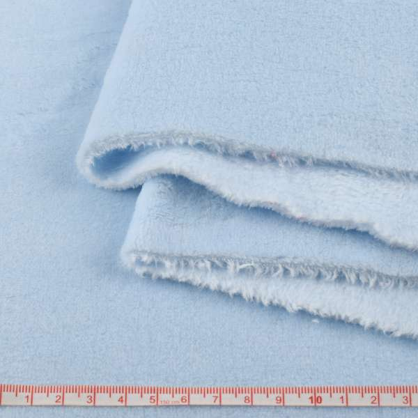 Велсофт двухсторонний голубой, ш.180 оптом