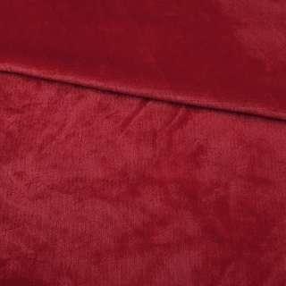 Велсофт двухсторонний красный, ш.180 оптом
