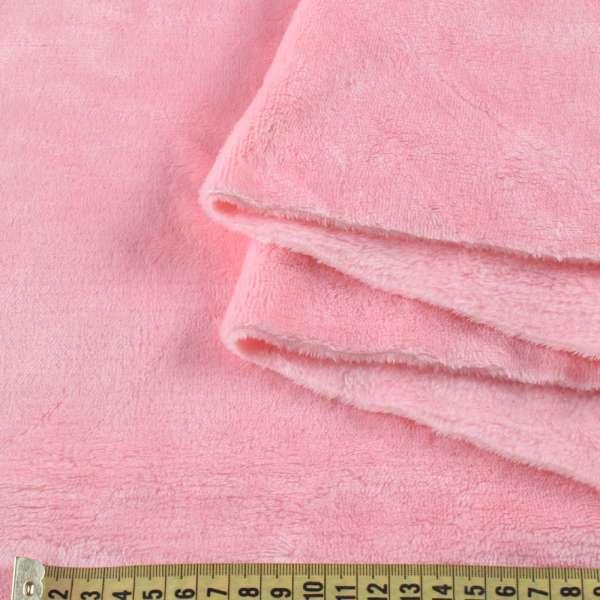 Велсофт двухсторонний розовый светлый, ш.180 оптом