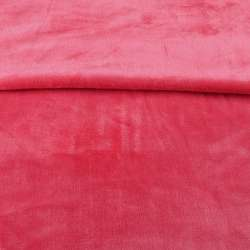 Велсофт двухсторонний розовый темный, ш.180 оптом