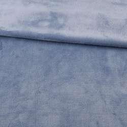 Велсофт двухсторонний сиренево-серый, ш.180