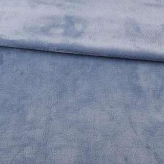Велсофт двосторонній бузково-сірий, ш.180 оптом