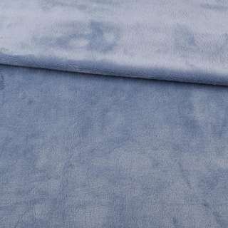 Велсофт двухсторонний сиренево-серый, ш.180 оптом