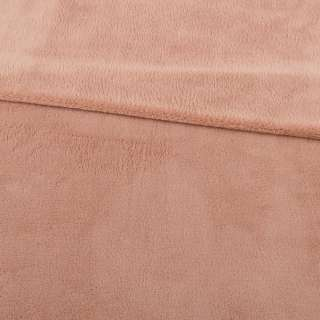 Велсофт двухсторонний бежево-розовый, ш.180 оптом