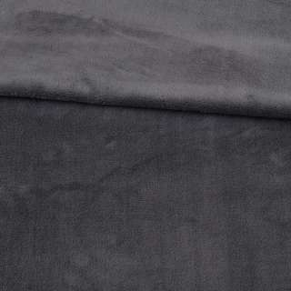 Велсофт двухсторонний серый темный ш.180 оптом