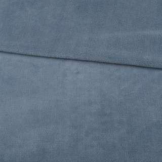 Велсофт двухсторонний серо-голубой, ш.180 оптом