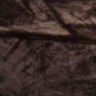 Велсофт двухсторонний коричневый, ш.220 оптом