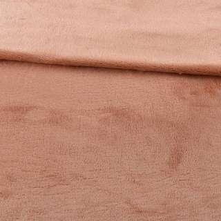 Велсофт двосторонній бежевий з рожевим відливом, ш.200 оптом