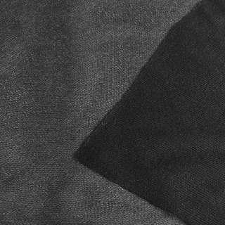 """Дублерин трикотажный черный тонкий хлопковый """"KUFNER"""", ш.150 оптом"""
