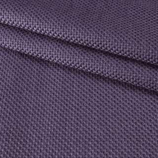 Рогожка джутовая интерьерная фиолетовая ш.130 оптом