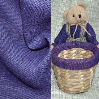 Мешковина джутовая фиолетовая ш.130 оптом