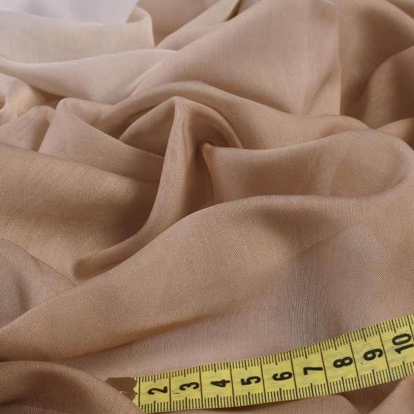 Тюль батист омбре коричнево-белый, ш.280 оптом