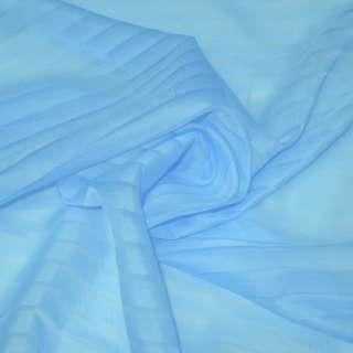 вуаль голубая в полоску ш.275 оптом