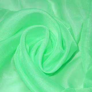 вуаль гладкая зеленая мята ш.276 оптом
