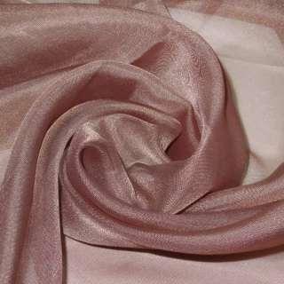 вуаль гладкая коричнево-розовая ш.280 оптом