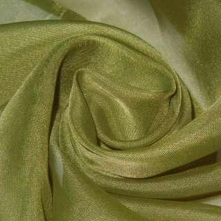 вуаль гладкая темно-оливковая ш.280 оптом