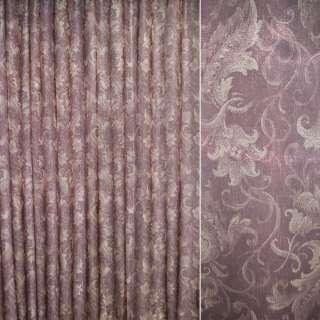 Кристалон бордовый с декор.тюльпанами ш.265 оптом