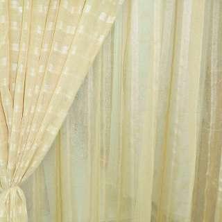 лен француз. золотистый с узкими атлас. полосами ш.280 оптом