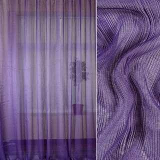 Сетка гардинная фиолетовая, ш.280 оптом