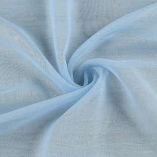 Льон французький гардинний блакитний, ш.300 оптом