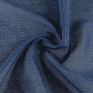 Льон французький гардинний синій, ш.300 оптом