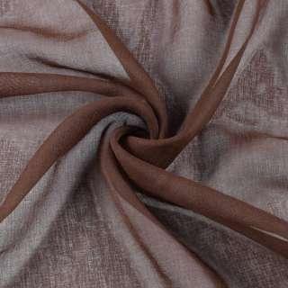 Лен французский коричневый с рыжим оттенком, ш.280 оптом