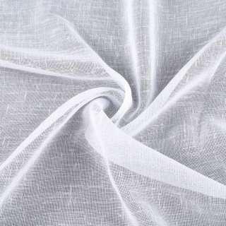 Лен гардинный белый с утяжелителем, ш.300 оптом