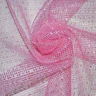 Сетка ярко-розовая крупная ш.280 оптом