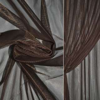 Сітка тюль 1мм коричнева темна, ш.280 оптом