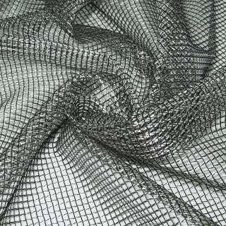 Сітка велика сріблясто-чорна ш.280 оптом