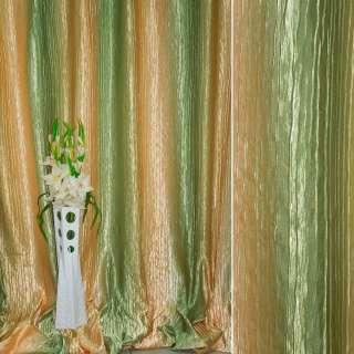 """атлас жатый бежево-желтый+оливковый """"радуга"""" ш.275 оптом"""