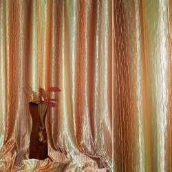 Атлас жатый желто+коричнево-оранжевый радуга ш.275 оптом
