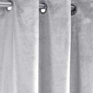 Велюр портьерный серый светлый, ш.280 оптом