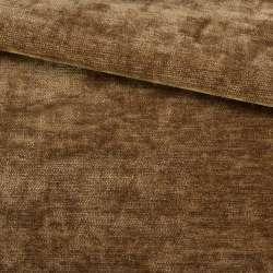 Велюр двухсторонний коричневый коньячный ш.280 оптом