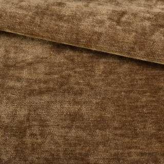 Велюр двосторонній коричневий коньячний ш.280 оптом