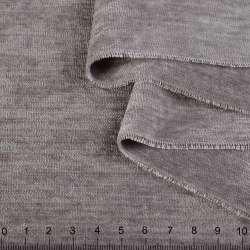 Велюр двухсторонний серый кварцевый ш.280 оптом