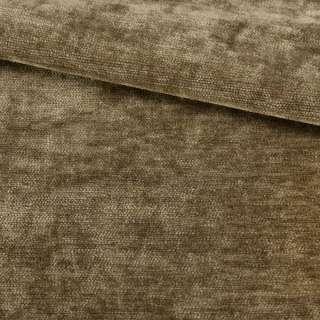Велюр двухсторонний бежево-коричневый ш.280 оптом