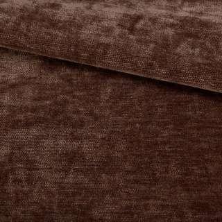 Велюр двухсторонний коричневый темный ш.280 оптом