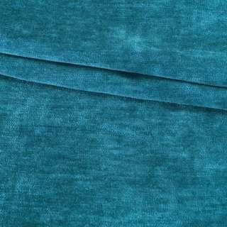 Велюр двухсторонний темный бирюзовый ш.280 оптом