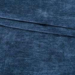 Велюр двухсторонний синий сапфировый ш.280 оптом