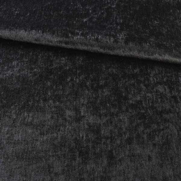 Велюр блэкаут шторный черный, ш.280 оптом