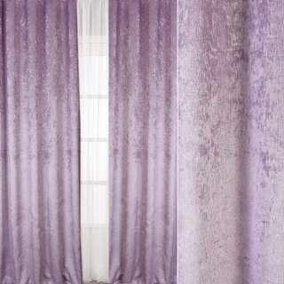 Велюр блекаут шторний бузковий світлий, ш.280 оптом