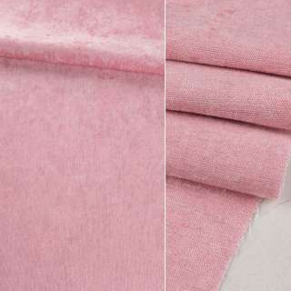 Велюр блэкаут шторный розовый ш.280 оптом