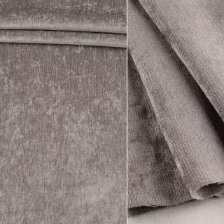 Велюр блэкаут шторный серый ш.280 оптом