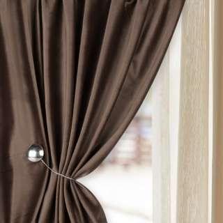 Велюр для штор коричневий ш.280 оптом