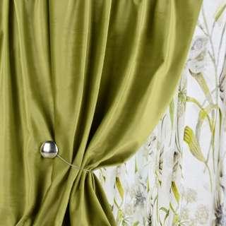 Велюр для штор оливково-зелений (каталог 75) ш.280 оптом